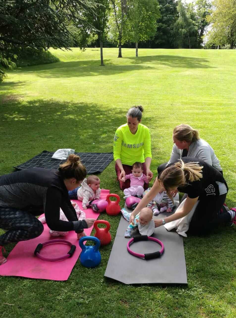 mother and baby class in Dublin