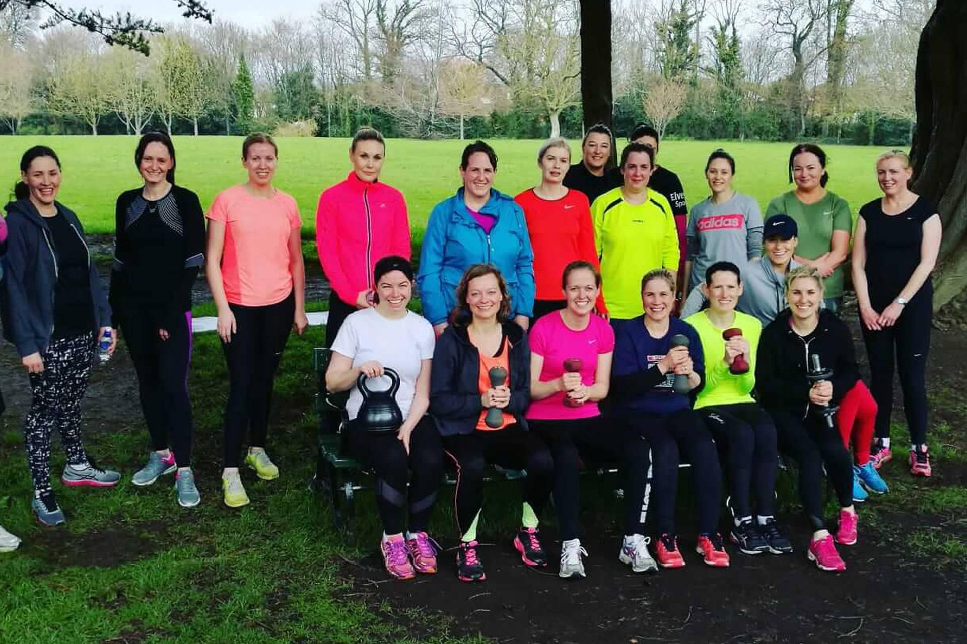 women's fitness class Dublin