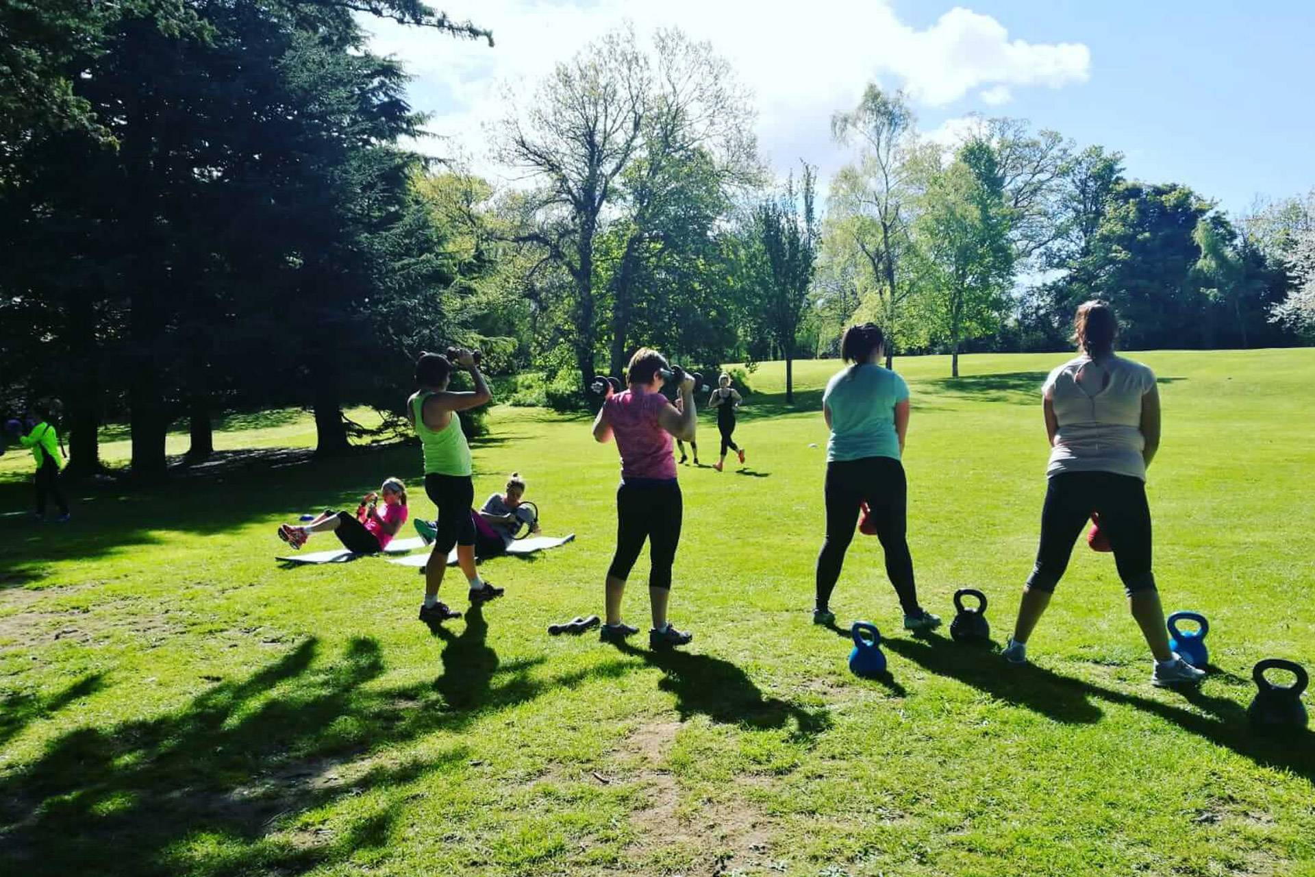 find a fitness class in Dublin